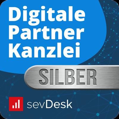 sevDesk Partnerlabel Silber